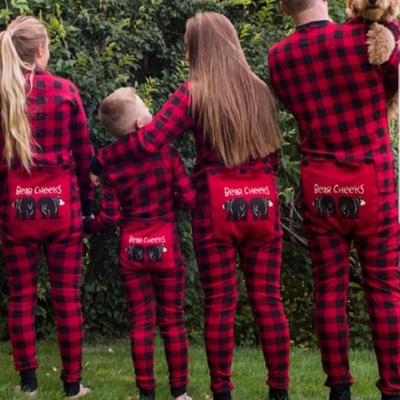 Lazy one bear cheeks flapjacks pajamas 3a07e6a02